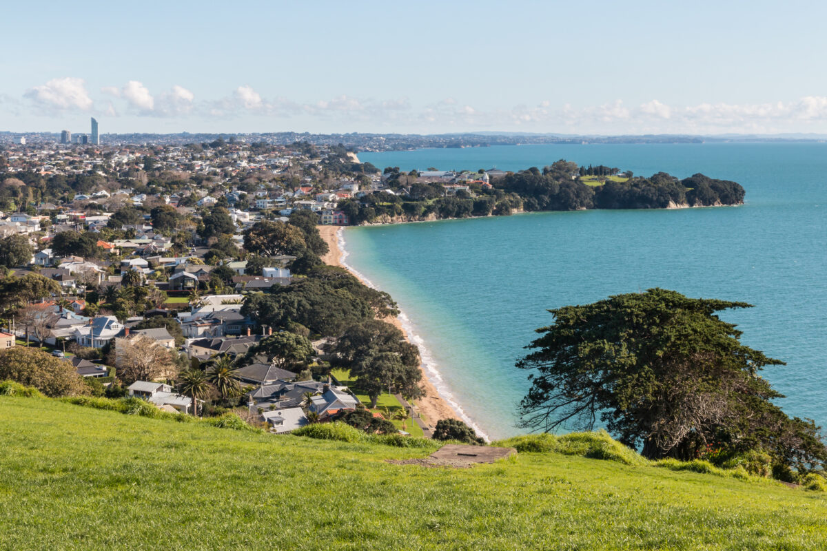 Cheltenham Beach in Auckland's North Shore