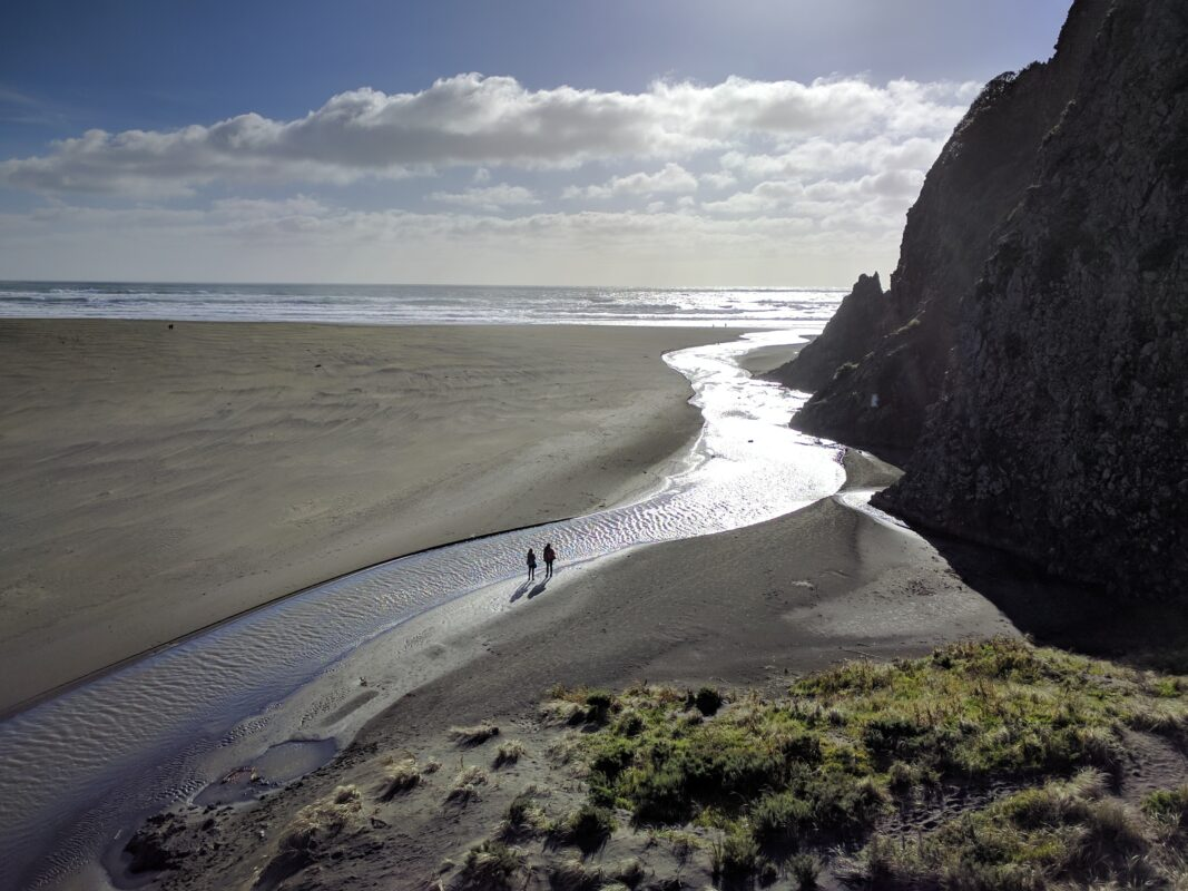 Karekare Beach in Auckland
