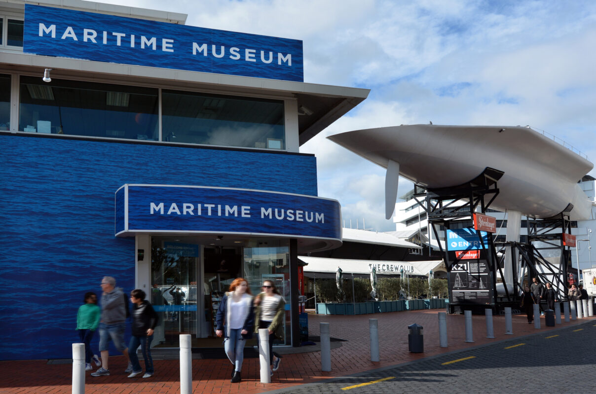 New Zealand Maritime Museum in Auckland