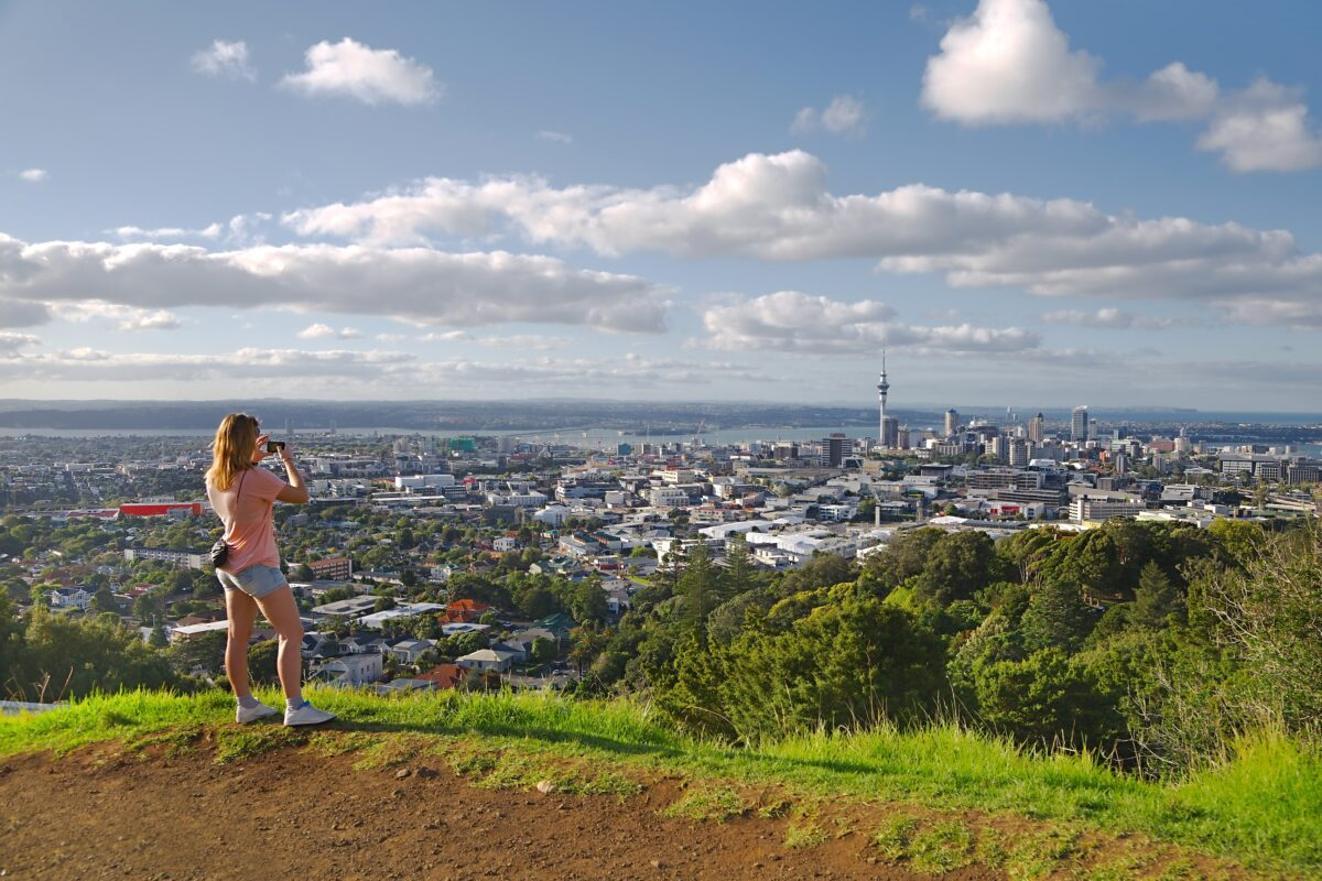 Hiking in Auckland